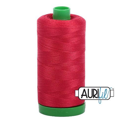 Aurifil 40 1000m 2250 Red Cotton Thread