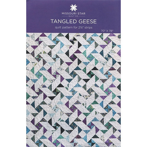 Missouri Star Tangled Geese Quilt Pattern