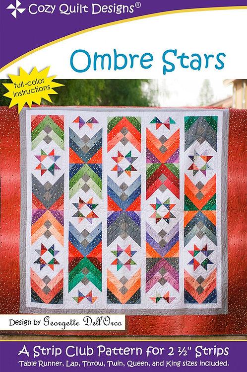 Cozy Quilt Designs Ombre Stars Quilt Pattern