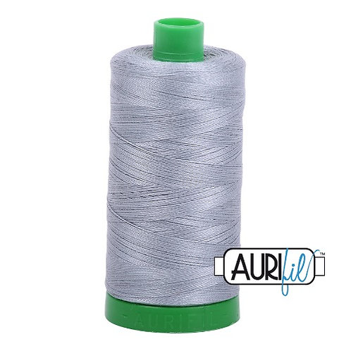 Aurifil 40 1000m 2610 Light Blue Grey Cotton Thread