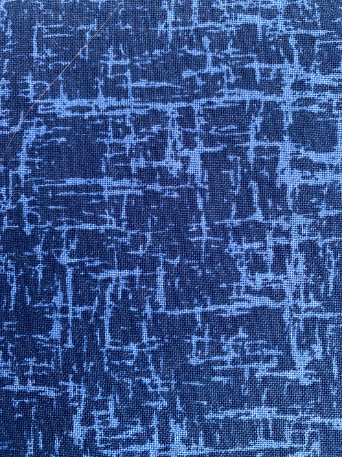 Textured Blenders Navy Fabric