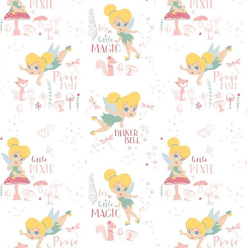 Disney Tinkerbell Pixie Magic Fabric