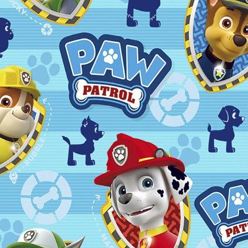 Paw Patrol Boys Badges Fabric
