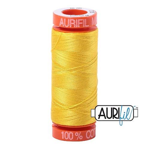 Aurifil 50 200m 2120 Cotton Thread Canary