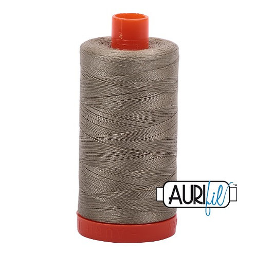 Aurifil 50 1300m 2900 Light Kakhy Green Cotton Thread