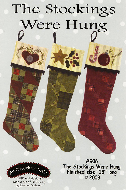 The Stockings Were Hung Pattern