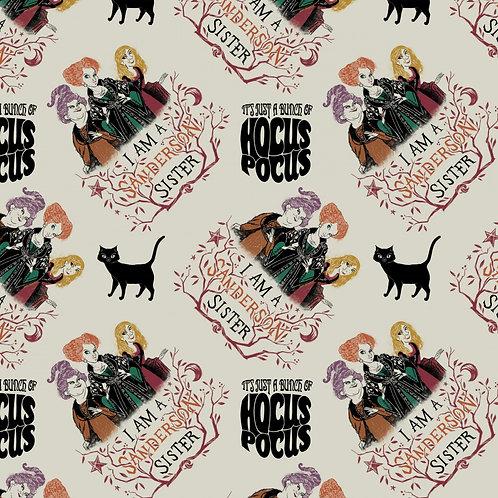 Disney Hocus Pocus Sanderson Sisters Fabric