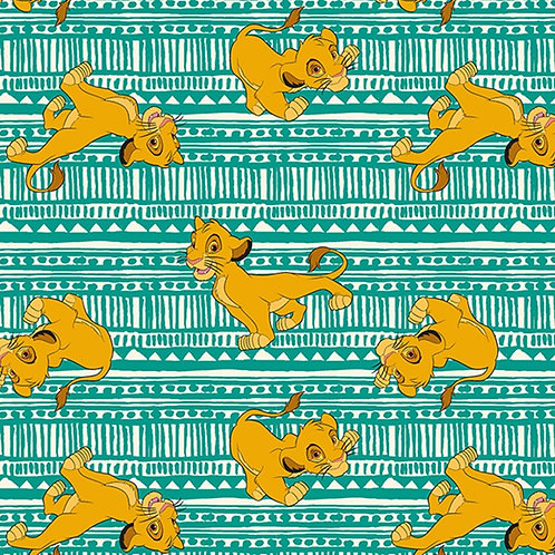 Disney Lion King Toss Simba Fabric