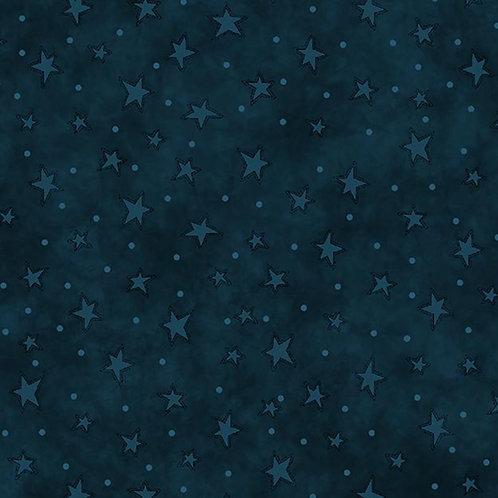 Indigo Starry Fabric