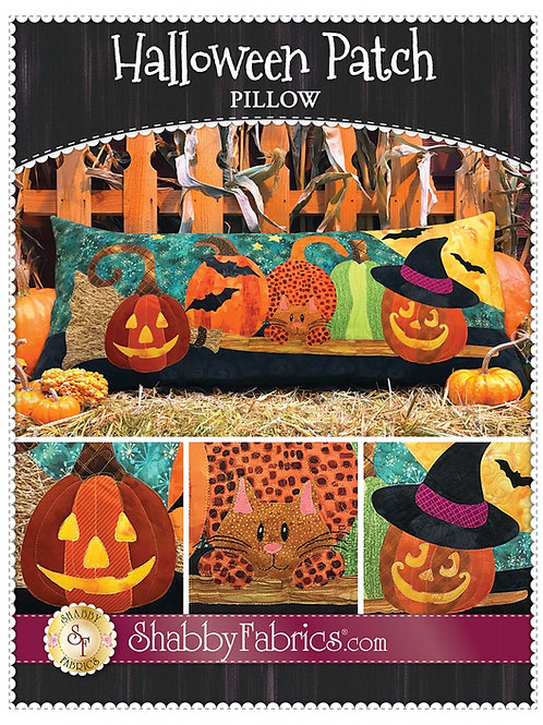 Halloween Patch Pillow Pattern
