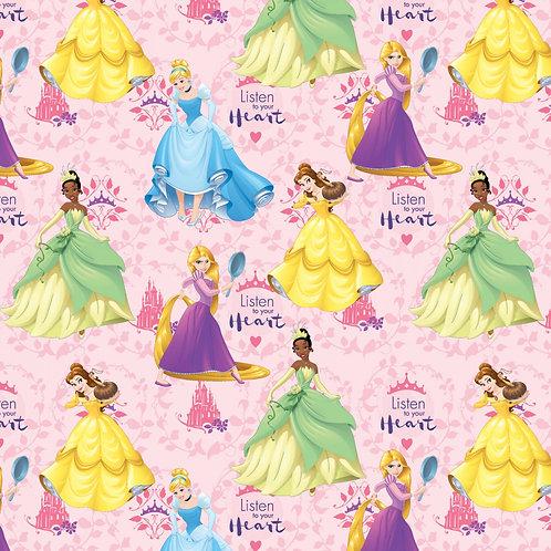 Disney Princesses Fabric