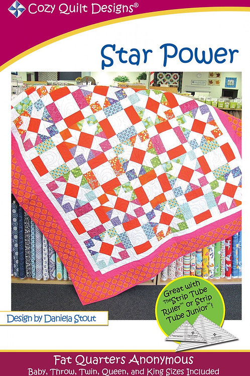 Quilt Designs Star Power Quilt Pattern