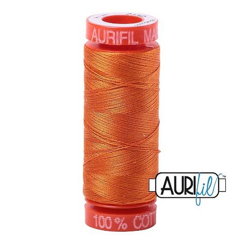 Aurifil 50 200m 2150 Cotton Thread Pumpkin