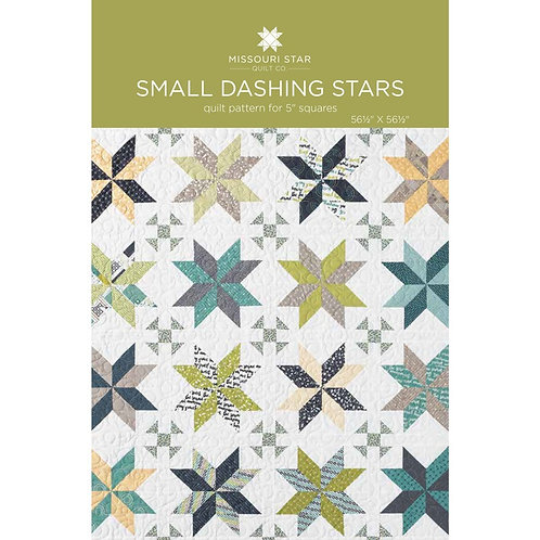 Missouri Star Quilt Company Dashing Stars Pattern