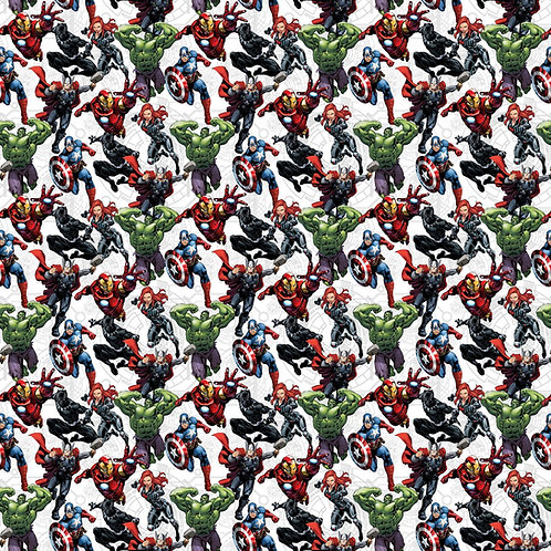 Marvel Avengers Unite Fabric