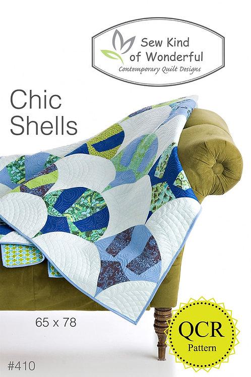 Chic Shells Quilt Pattern