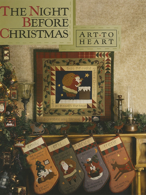 The Night Before Christmas Pattern Book