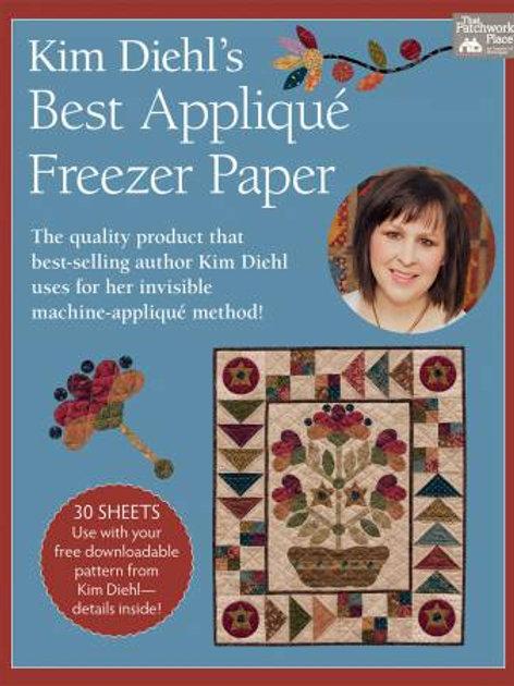 Kim Diehl's Best Applique Freezer Paper 30 Pcs
