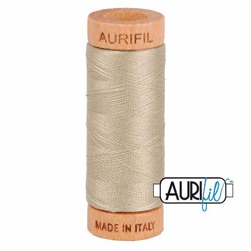 Aurifil 80 280m 2324 Stone Cotton Thread