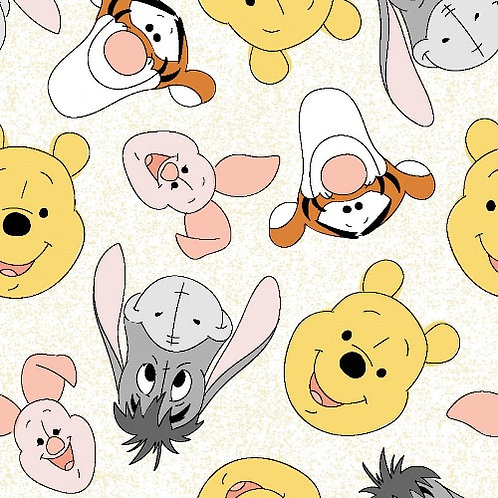 Winnie the Pooh and Friends Toss Fabric