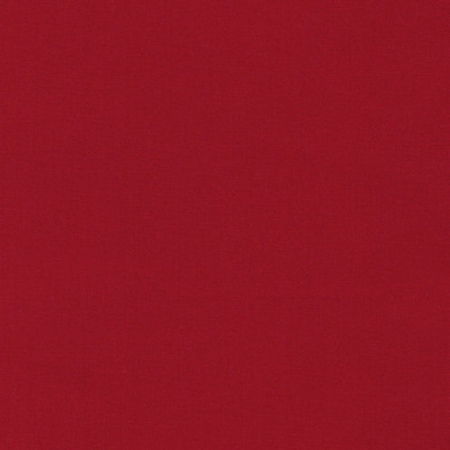 Chinese Red 1480 - Kona Solids Fabric