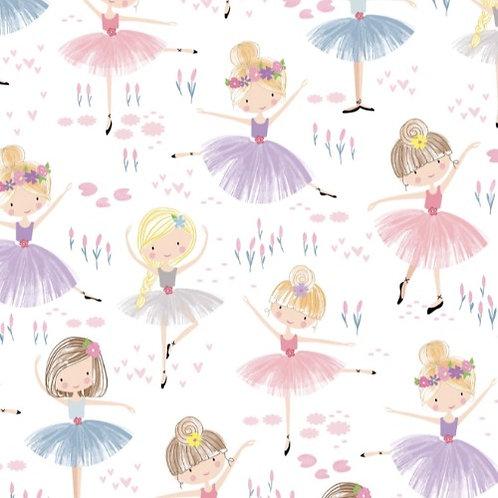 Ballet Dancers Fabric