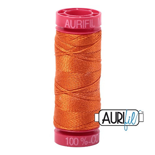 Aurifil 12 50m 2235 Orange Cotton Thread