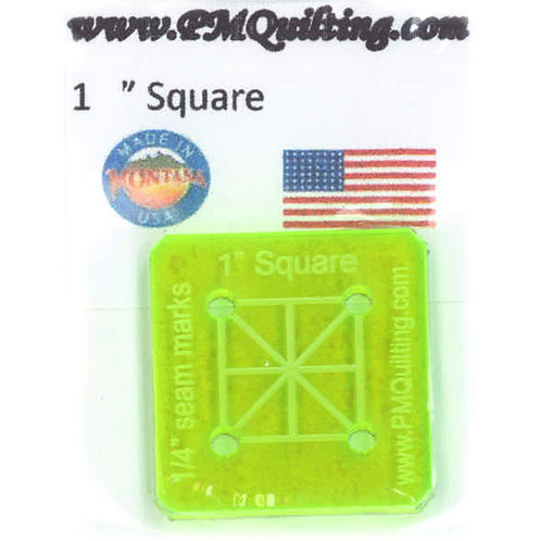"""PM Quilting 1"""" Square Template"""