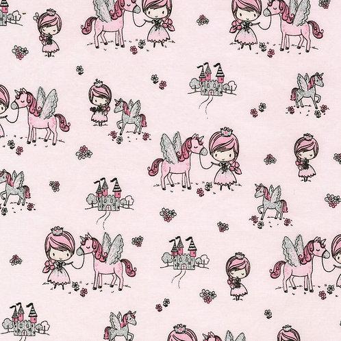Blush Princess and Unicorn W/Glitter