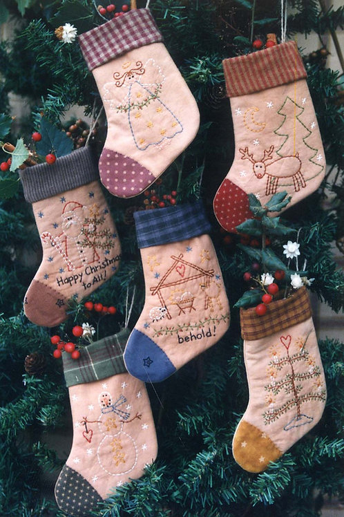 Bareroots Little Christmas Stockings Pattern
