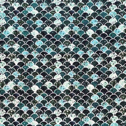 Merboys 4 Scales Fabric