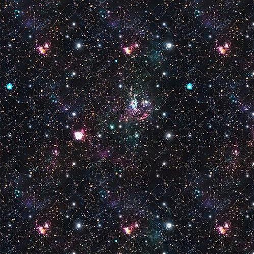 Black Space Fabric