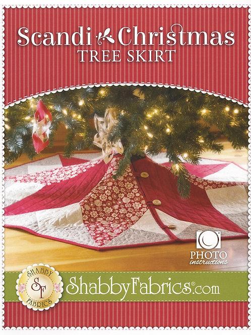 Scandi Christmas Tree Skirt Pattern