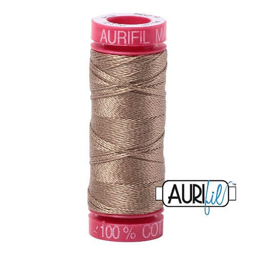Aurifil 12 50m 2370 Sandstone Cotton Thread