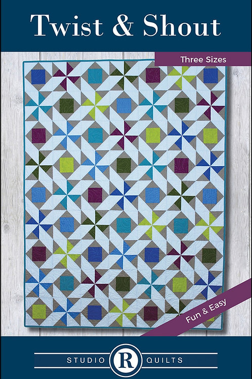 Twist and Shout Quilt Pattern