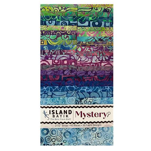 Island Batiks Mystery 2.5in Strips