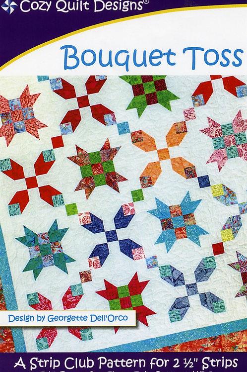 Cozy Quilt Designs Bouquet Toss Quilt Pattern