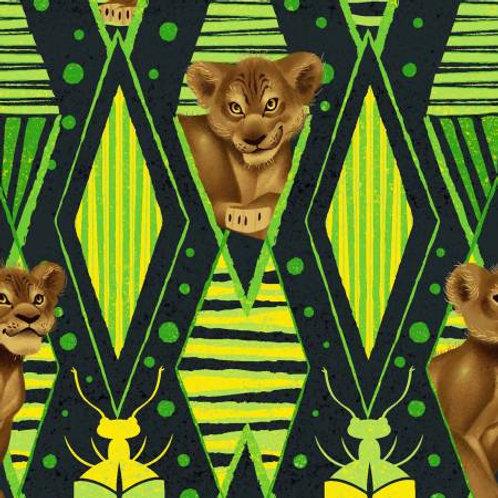 Lion King Jungle Fun Fabric
