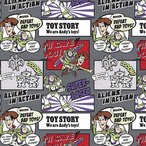 FLANNEL - Disney Toy Story Flannel Fabric