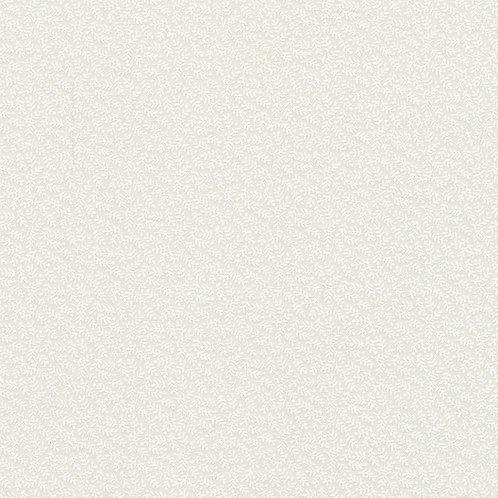 Stof Vines White on Cream Fabric 313-022
