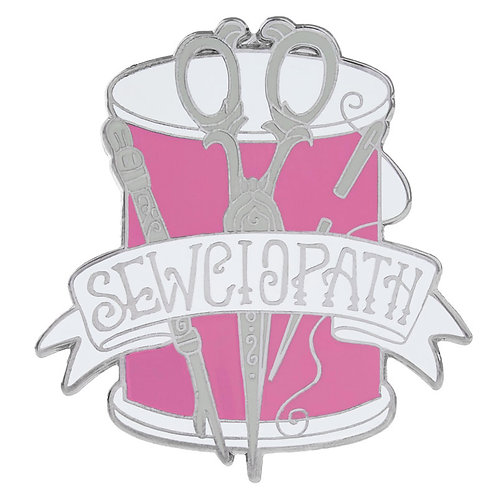 Pin Peddlers Sewciopath Pin