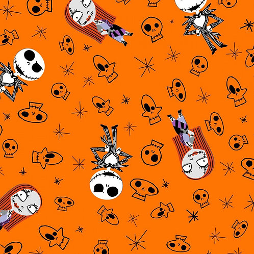 LP Nightmare Before Christmas Flannel Fabric
