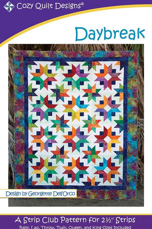 Cozy Quilt Designs Daybreak Quilt Pattern