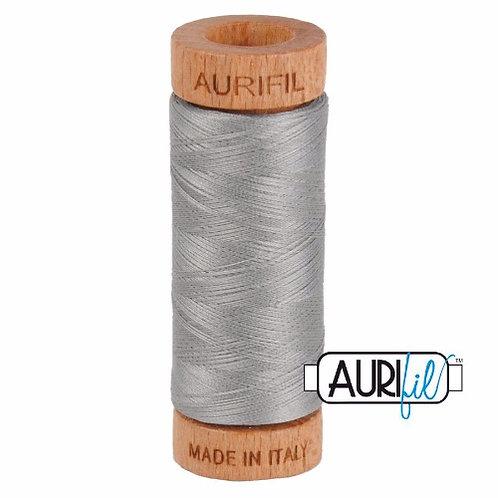 Aurifil 80 280m 2620 Stainless Steel Cotton Thread