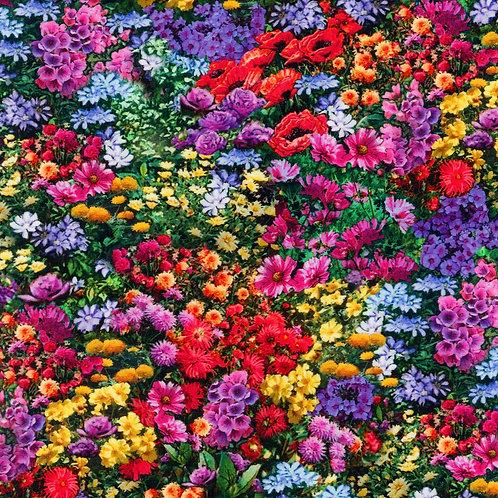 Garden Flowers Fabric