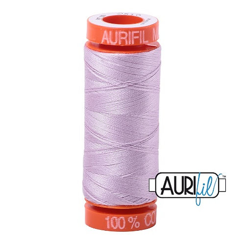 Aurifil 50 200m 2510 Cotton Thread Light Lilac