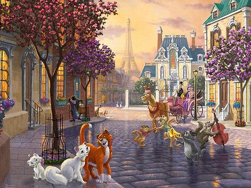 Disney Dreams Aristocats Panel