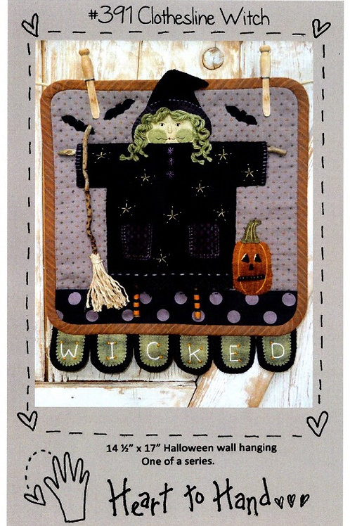 Clothesline Witch Pattern