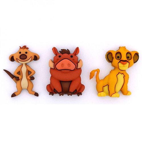 Disney Lion King Button Embellishments