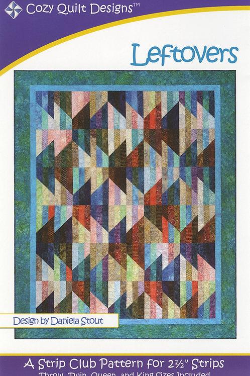 Cozy Quilt Designs Left Overs Quilt Pattern